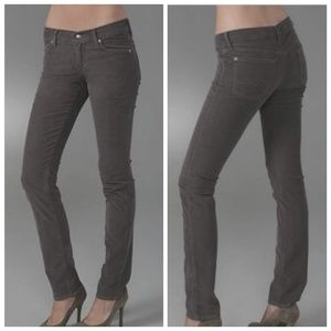 7 for all mankind gray jeans 25 Josefina